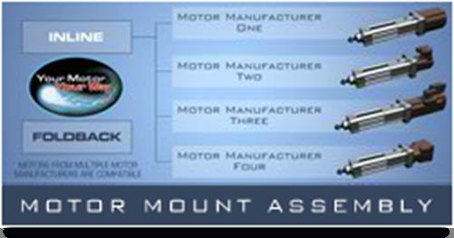 ECV Motor Mounts