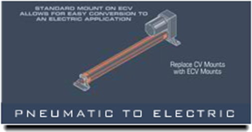 ECV Pneumatic To Electric