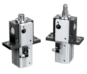 Series PLKD Pneumatic Disappearing Pin Clamp