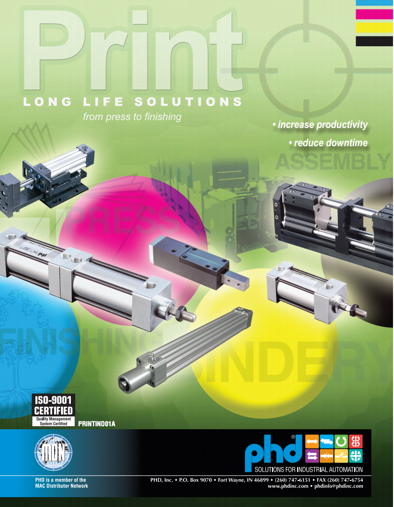 Industrial Printing Equipment Brochure