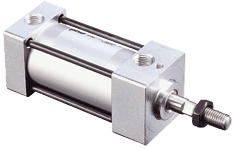 Series A, AV, HV Tie Rod Hydraulic & Pneumatic Cylinders for NFPA Cleanroom