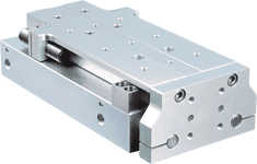 Series STP Compact Rail Thruster Pneumatic Slide