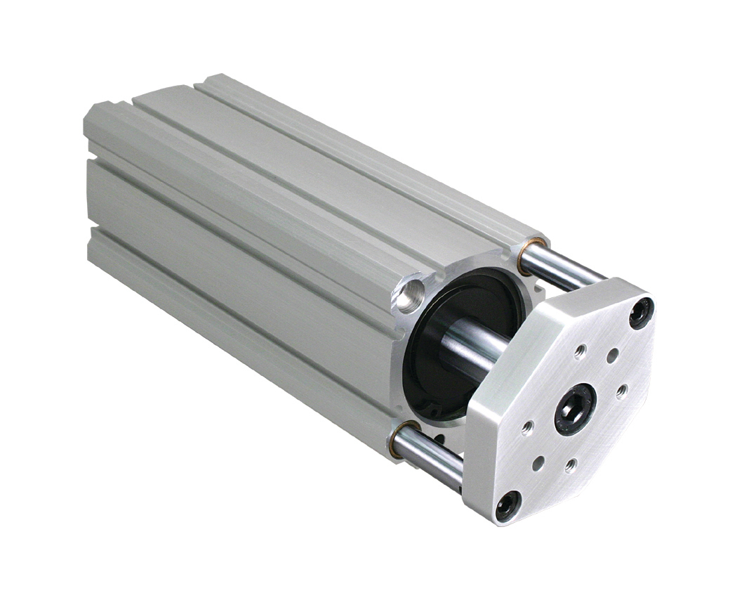 Series CTS Guided Pneumatic Compact Cylinder