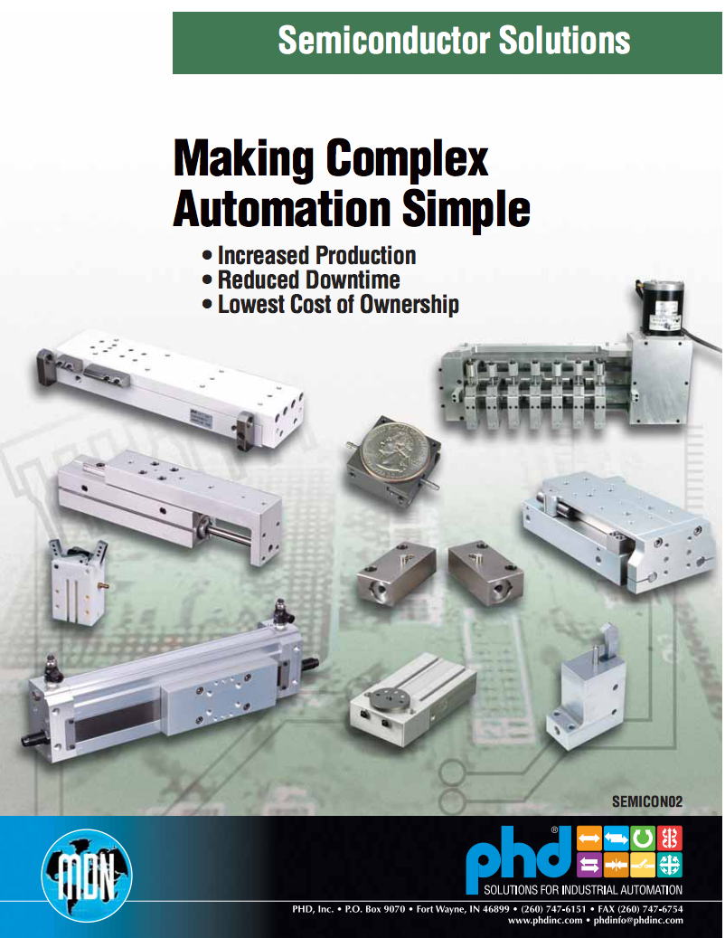 Semiconductor Manufacturing Equipment Brochure