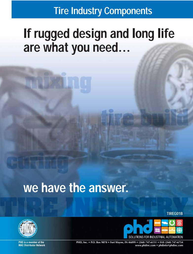 Tire Manufacturing Equipment Brochure