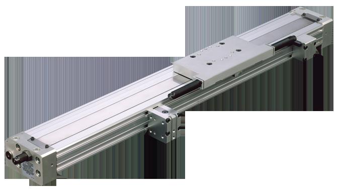 Pneumatic Slide Multi Position Rodless Gantry Rail Sfm