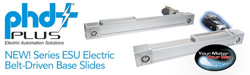 NEW ESU Electric Belt-Driven Base Slide