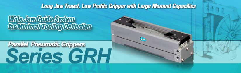 Series GRH Parallel Pneumatic Long Travel Gripper