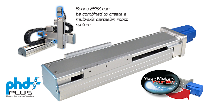 Series ESFX Electric Linear Slide