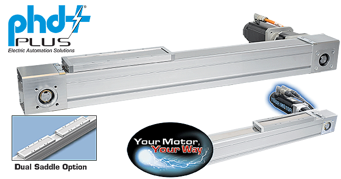 Series ESU Electric Belt-Driven Linear Actuator