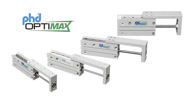 PHD Optimax Series OSH Compact Pneumatic Slide Tables